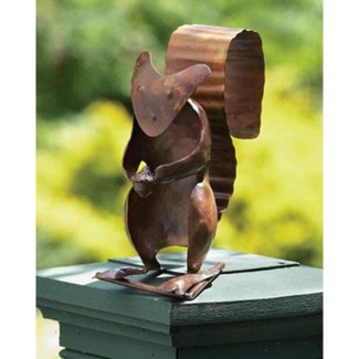 Flamed Squirrel Garden Ornament, Standing, 6.5 x 4.5 x 8.5inch - On Sale 50 percent off original p