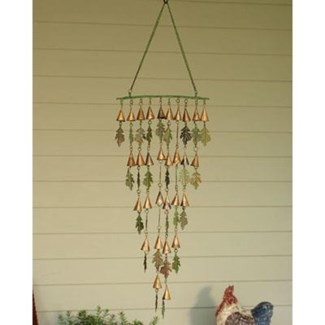 Shimmering Bells w/Small Leaves 10.5x32 inch. Pg.21 - On Sale 50 percent off original price 30.6