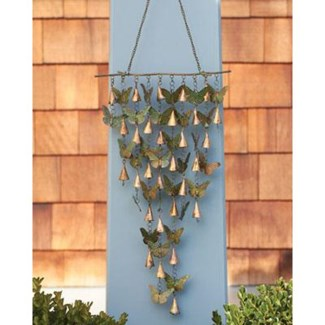Shimmering Bells w/Butterflies 13x21 inch. Pg.21 - On Sale 50 percent off original price 30.6