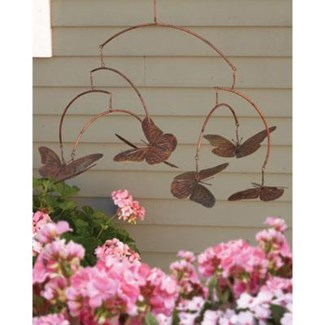 Flamed Butterflies Mobile 35x23 inch. Pg.16 - On Sale 50 percent off original price 37.8