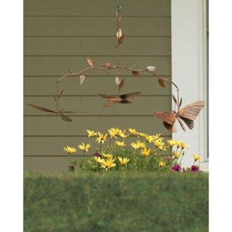 Flamed Butterfly Branch Mobile 26x7x17 inch. Pg.17 - On Sale 50 percent off original price 39.6