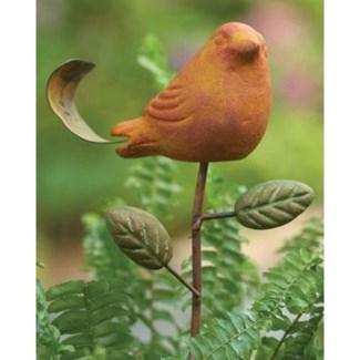 Spice Bird Plant Pick 3.5x16 inch. Pg.53 - On Sale 50 percent off original price 9
