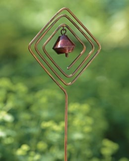 Bronzed Diamond Tinker Bell Garden Stake 5x30 inch. Pg.40 - On Sale 50 percent off original price 9.