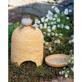 Terra Cotta Toad House and Bath 5.5x9Bath:4.5d inch. Pg.53 - On Sale 50 percent off original price 1