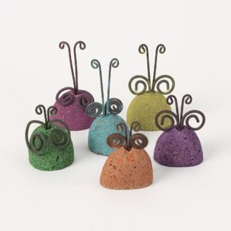 Miniature Stone Garden Critters, Set of 6 2.5 inch. Pg.60 - On Sale 50 percent off original price
