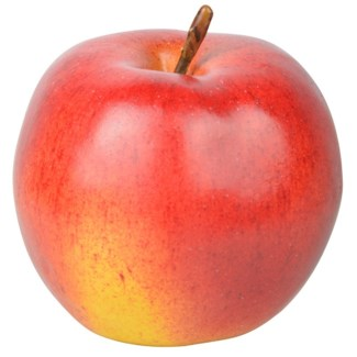 Decorative Apple - 3.75x3.75x3.75 inches