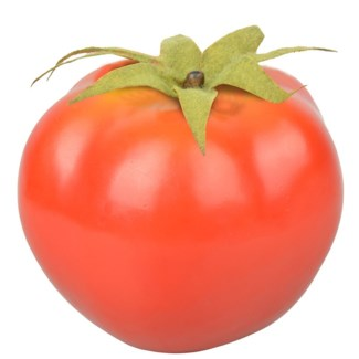 Decorative Tomato - 3.25x3x2.75 inches