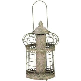 AM green squirrel proof seed feeder - 9.06x9.06x36