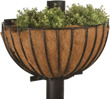 Pole basket 2 pieces - (24.8x26.2x15 inches)