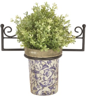 Flower pot holder single - (11.1x5.9x5 inches)