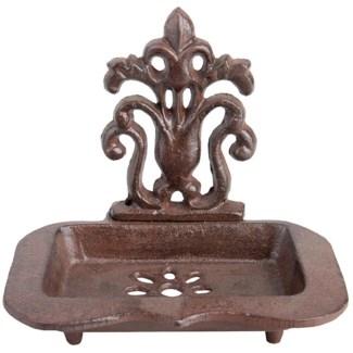 Cast iron soap dish. Cast iron. 15,5x11,7x13,8cm. oq/12,mc/12 Pg.141