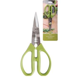 Herb scissors. ABS, stainless steel. 9,4x1,5x18,8cm. oq/12,mc/120 Pg.88