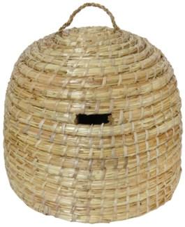 Beehive. Wheat straw. 41,5x41,5x32,5cm. oq/4,mc/4 Pg.86