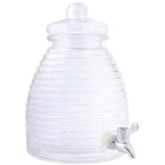 Beehive juice dispenser 5l S. Glass, PP. 21,4x26,9x29,2cm. oq/4,mc/4 Pg.87