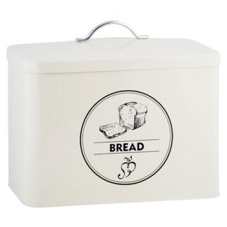 Storage tin bread, Galvanized steel - 13.58x7.48x29.7