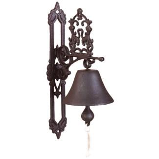 Doorbell classic antique brown. Cast iron. 13,0x19,5x35,8cm. oq/8,mc/8 Pg.43