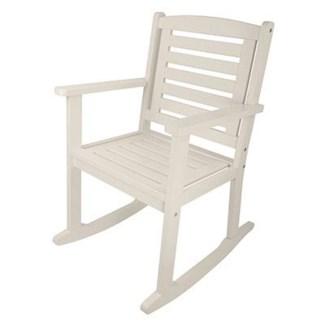 Rocking chair white. Pinewood. 62,5x75,0x98,0cm. oq/2,mc/1 Pg.126