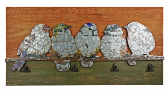 Birdies On Branch Clip Board, 23.6x1x11.8