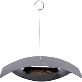 Bird table hanging black S -  15.55x11.06x8.5