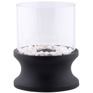 Bioethanol fireplace concave -  7.83x7.83x24.6