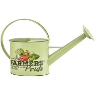 Farmers  Pride outdoor watering can. Zinc. 50,5x15,4x29,7cm. oq/6,mc/6 Pg.92, 133