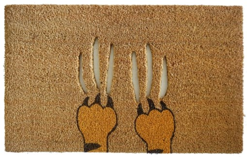 Scratch Mat, Natural, 17.7x29.5 inches, 1.5 cm thick