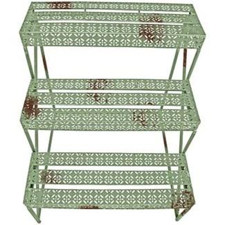 IH Etagere rectangular. Metal. 66,0x51,0x75,0cm. oq/2,mc/1 Pg.107