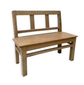 Small Bench, Tan - 31.1x11.8x26.4 inches