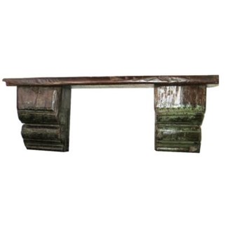 Reclaimed wood shelf 34 x 8 x 1inch, last one