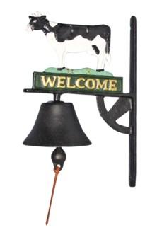 Cow Door Bell, Coloured