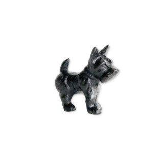 scottie dog, antique finish, 3.1x1x2.7 inches