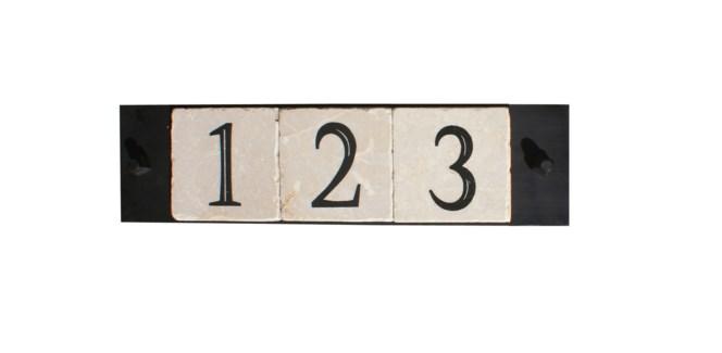 3-tile, with cast screws