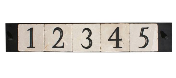 5-tile, with cast screws