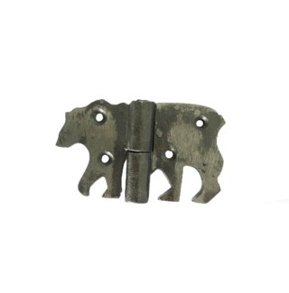Bear Hinge, Small, Oil Rubbed, 3