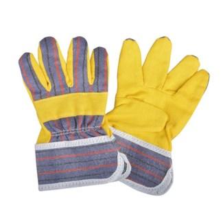 Kids garden gloves. T/C fabric (polyester-cotton fabric). 12,0x1,0x18,7cm. oq/12,mc/240 Pg.100