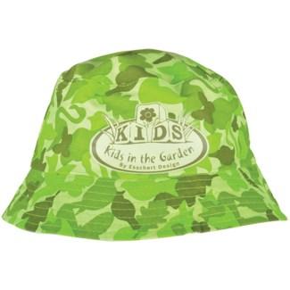 Children hat camouflage print. Cotton, polyester. 24,0x24,0x12,0cm. oq/12,mc/96 Pg.100