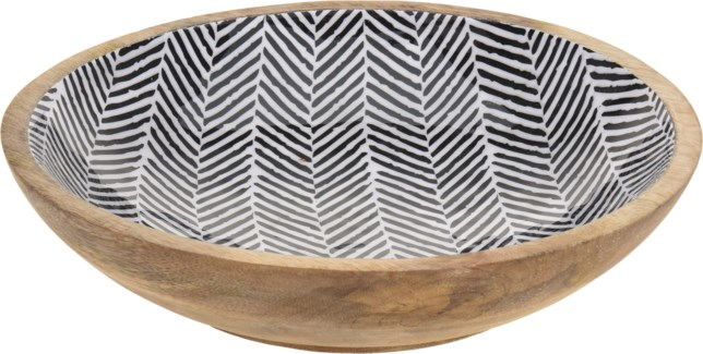 A44310220-Mangowood Bowl, L, 12x2.75 inches LAST CHANCE!