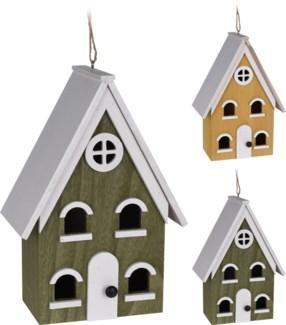 HZ1905050 - Birdhouse XL 2 Asst, Wood, Dims TBC