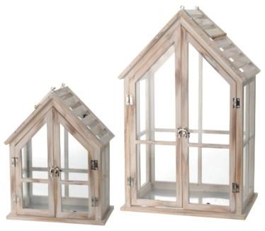 HZ1005900 - House Lantern, Set/2 - ON SALE 30 percent off original price 74