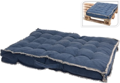 A35840020-Pallet Picnic Cushion, M, Navy, 24.31.5 in