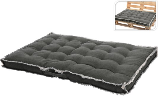 A35840240-Pallet Picnic Cushion, L, Taupe, 31.5x47 in