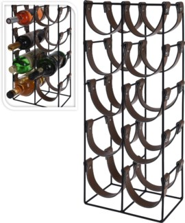 C37880190 - Metal 10 Btl Wine Rack