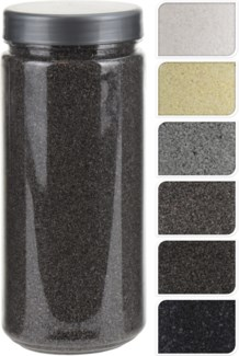HZ1930060-Decoration Sand, 5/Asst, 2.6x2.6x6 in 750 Gr
