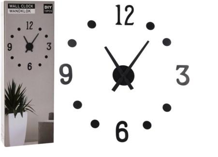 HX9000160 - DIY Wall Clock, MDF, Black
