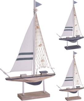 DH9109070-Sailing Boat B, 2/Asst, 12x2x19 in