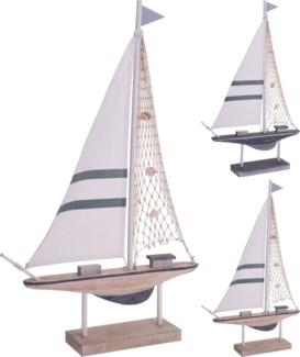 DH9109080-Sailing Boat C, 2/Asst, 15x3x24 in