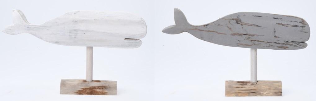YZT900030-Beachcomber Whale 2/Asst, 12x2.4x7 in
