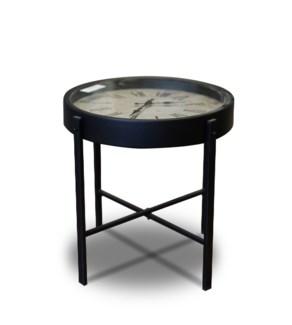 HZ1300620 Clock Side Table, 16   D