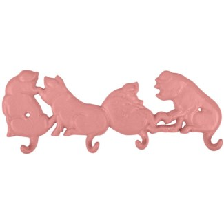 Pig tails hook - 11x1.25x4.25 inches