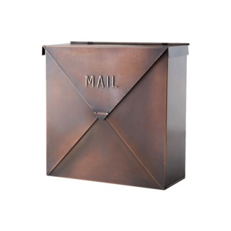 Rockford Mailbox Copper Finish 10x4.1x10inch